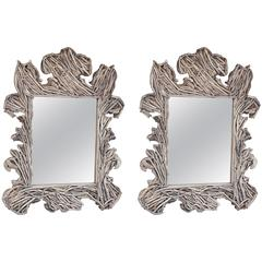 Large Florentine Driftwood Mirror