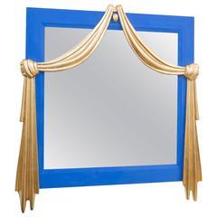 Gilt Dorothy Draper Style Mirror