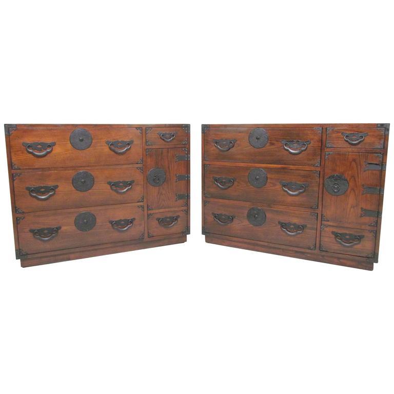 versatile furniture. American Versatile Pair Of Tansu Chests By Baker Furniture, Circa 1960s For  Sale Versatile Furniture E