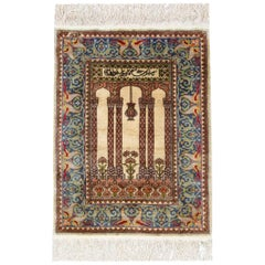 Antique Silk Rugs, Persian Style Rugs from Turkey Herekeh