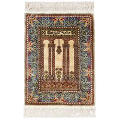 Antique Silk Rugs, Persian Style Rugs from Turkey Herekeh