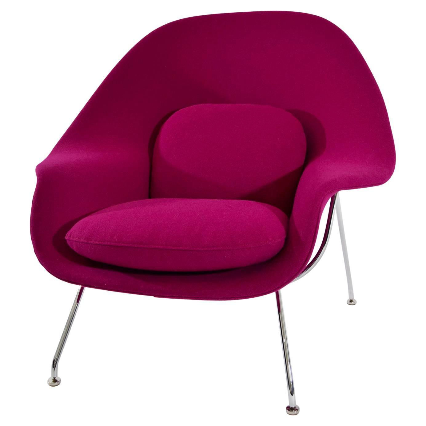 saarinen for knoll womb chair in knoll upholstery for sale at 1stdibs