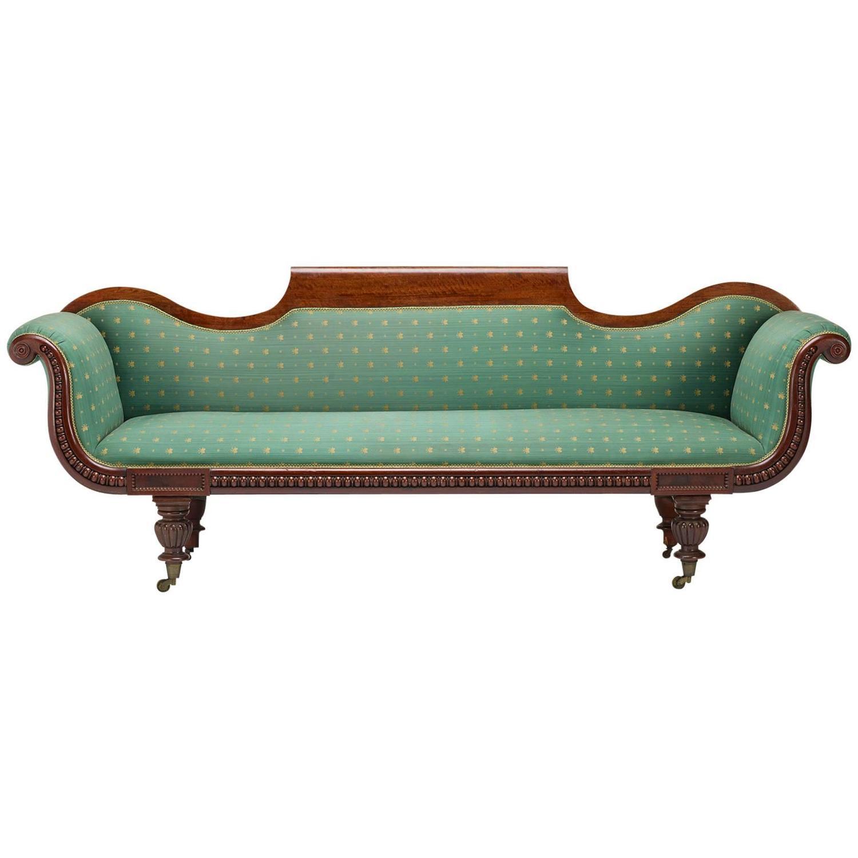 19th Century Gondola Sofa For Sale at 1stdibs