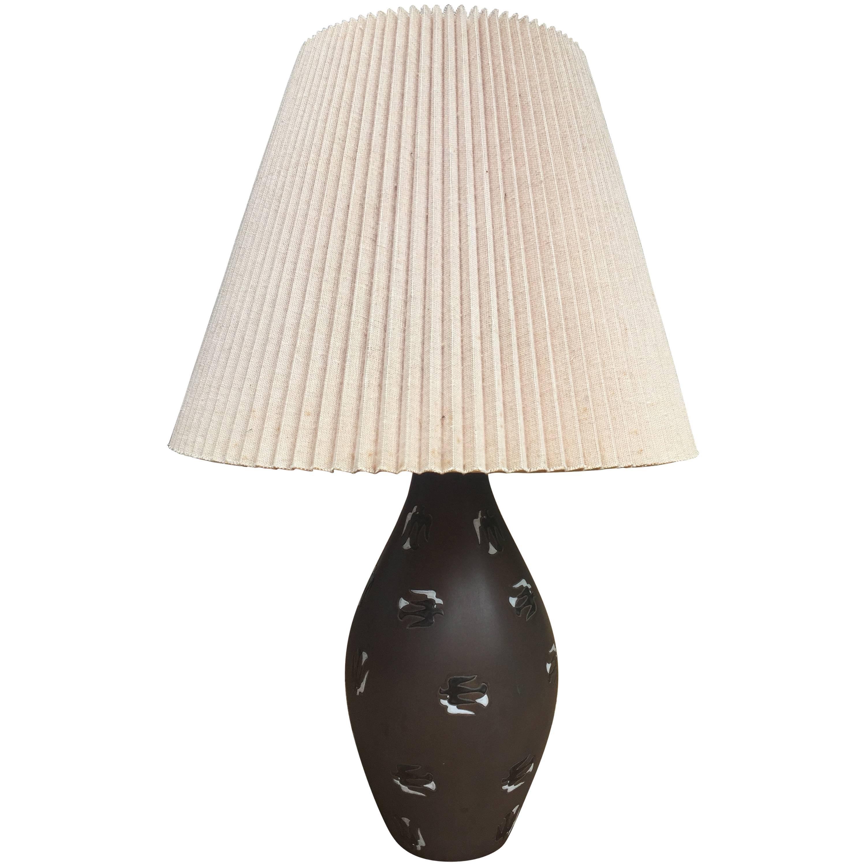 Ugo Zaccagnini Ceramic Lamp