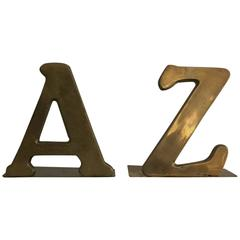 C Jere A to Z Bookends