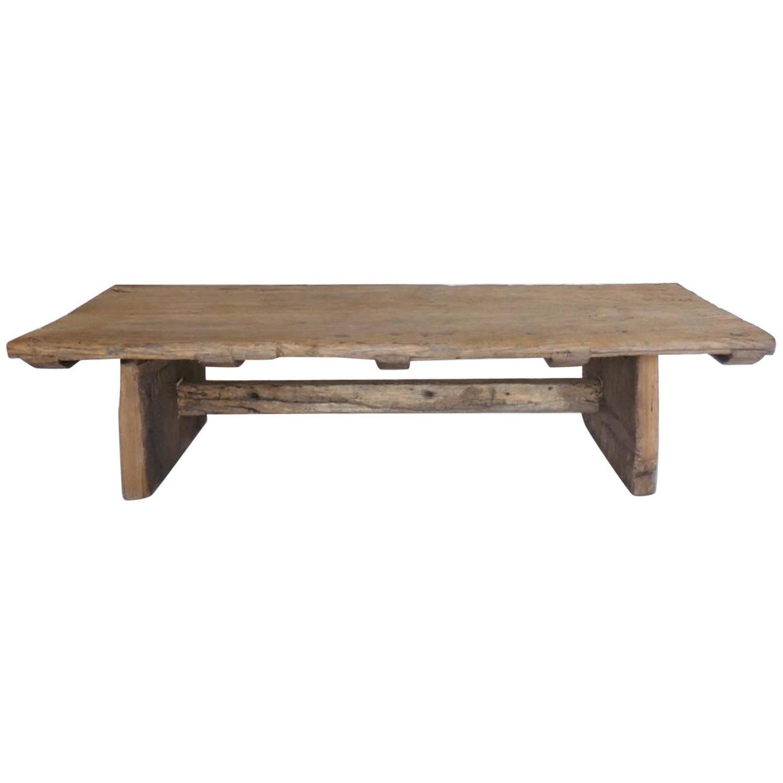 japanese elmwood coffee table for sale at 1stdibs. Black Bedroom Furniture Sets. Home Design Ideas