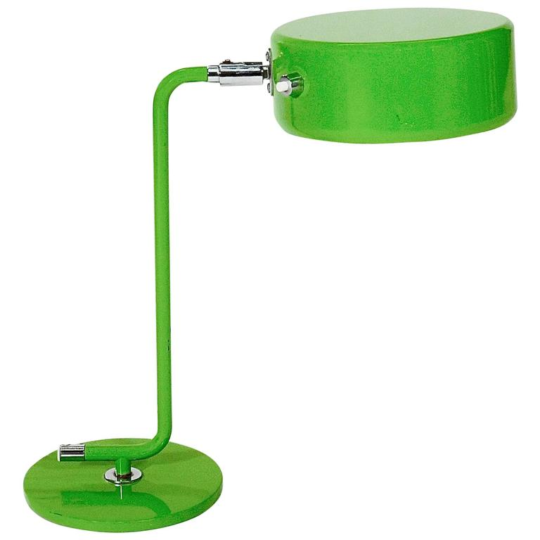 Green Lacquered Metal 'OS Lamp' Lamp by Anders Pehrson