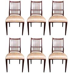 Set of Six Dining Chairs by Svante Skogh