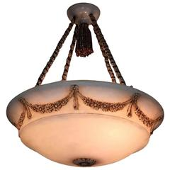 Alabaster Pendant Light Fixture