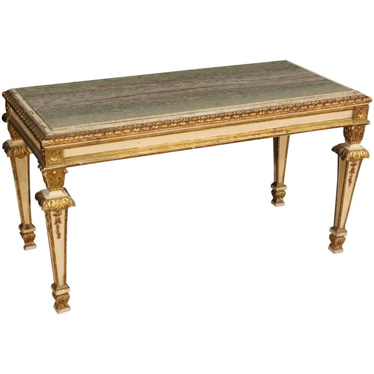 20th Century French Coffee Table In Louis Xvi Style At 1stdibs