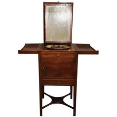 Superb Quality George III Mahogany Gentleman's Wash Stand