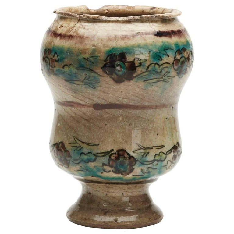 Jar from PHDS Wikramaratna Islamic Pottery Collection For Sale