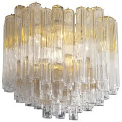 1960s Venini Glass Chandelier