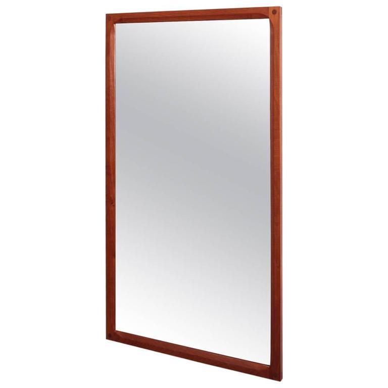 Aksel Kjersgaard Mirror in Teak by Odder in Denmark 1