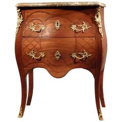 Dutch Louis XV Commode, Bearing the Stamp of the Guild of Saint Joseph
