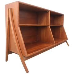 Sculptural Bookcase for Drexel by Stewart McDougall and Kipp Stewart
