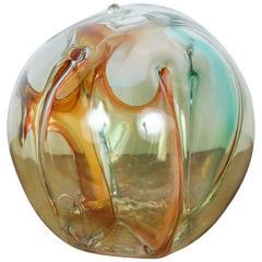 Handblown Glass Sculpture by Peter Bramhall