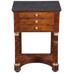 19th Century Mahogany End Table
