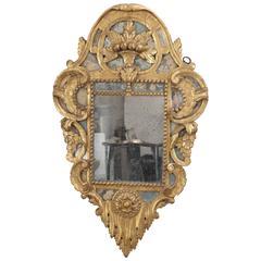 Antique 18th Century Mirror