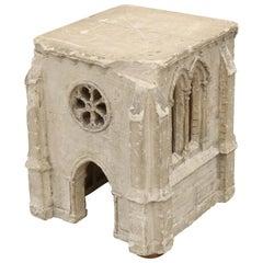 18th Century Architect's Plaster Model of Church