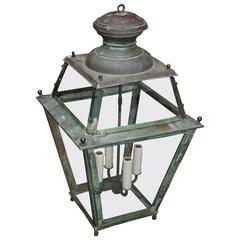 Antique 19th Century, Copper Lantern