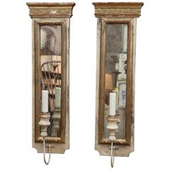 Pair of 19th Century, Fragment Sconces
