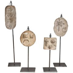 Set of Four 19th Century Jewelry Molds