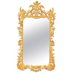 George II Rococo Styled Mirror