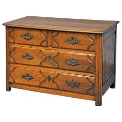 18th Century French Commode in Walnut
