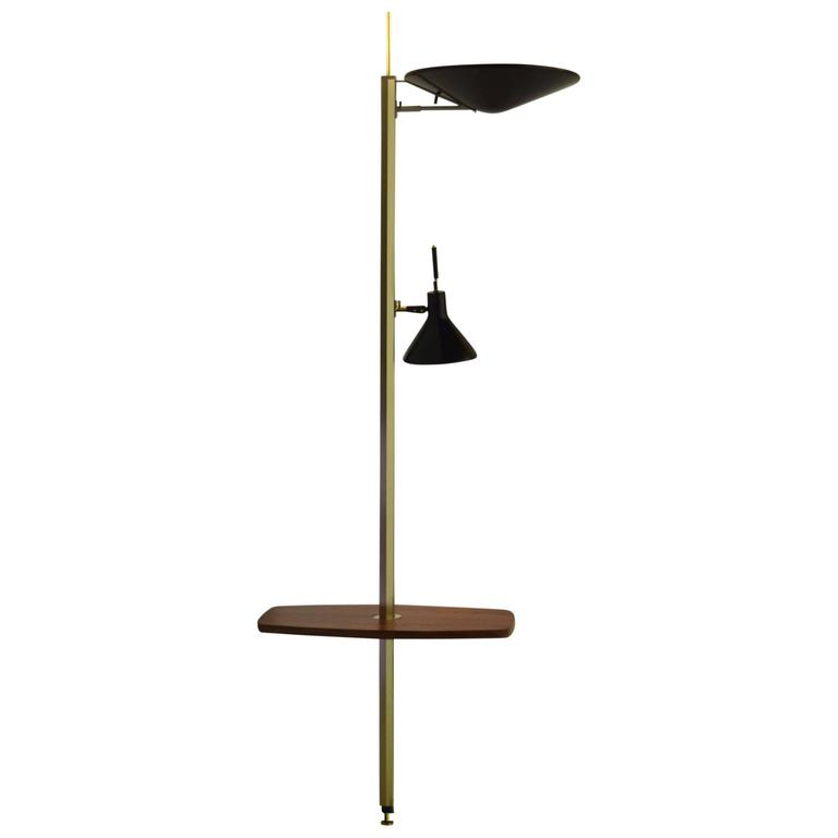 Lightolier Lytespan Table Floor To Ceiling Lamp At 1stdibs