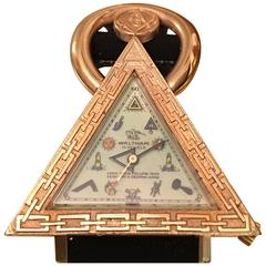 Waltham Swiss Freemason Masonic Triangle Watch