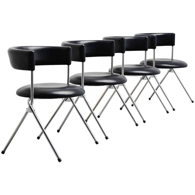 Werner Blaser Dining Chairs SZ09 't Spectrum, Holland, 1960 1