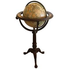 Rich Library-Ish Maitland Smith Standing Globe