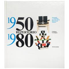 """Repertorio 1950 1980, Giuliana Gramigna"" Book, 2001"