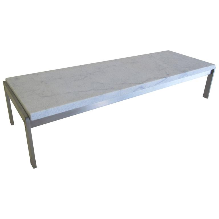 Poul Kjærholm, Marble Side Table, Model PK 62, Executed by Kold Christensen