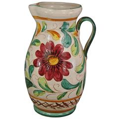 Large Italian Pitcher
