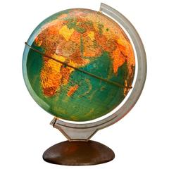 'Illumina' Rotating Terrestrial Globe, 1966