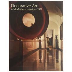 """Decorative Art and Modern Interiors, 1977"" Book"