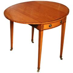 Late 18th Century English, Pembroke Table, George III