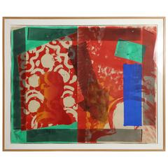 Howard Hodgkin's 'Moonlight' Lithograph