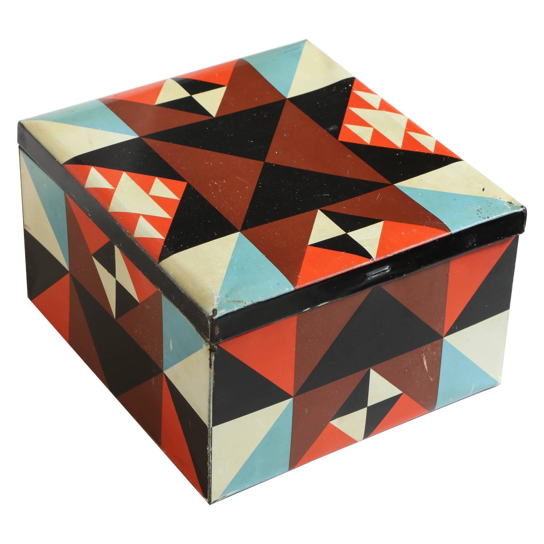 Martel Schwichtenberg German Bauhaus Tin Box