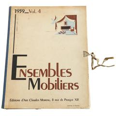 'Ensembles Mobiliers' 1939 Volume 4 Book