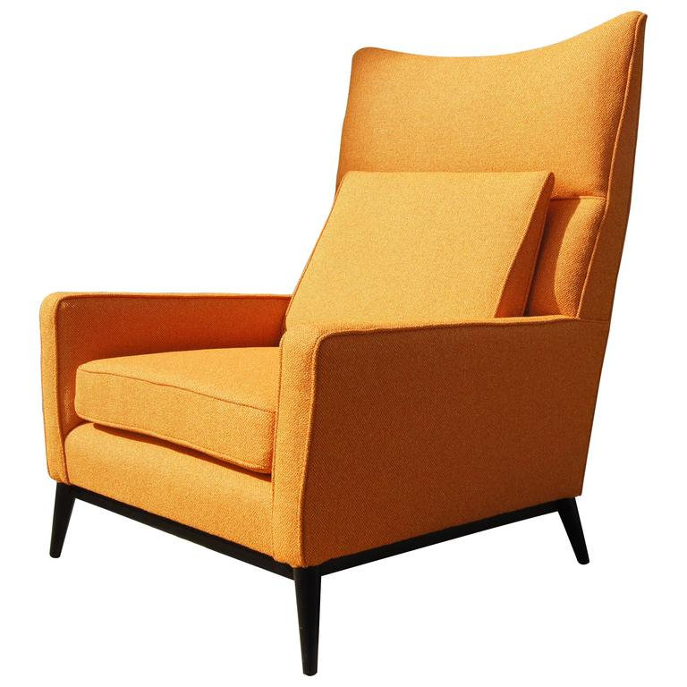 High Back Lounge Chair, Model 314, By Paul McCobb For Directional For Sale