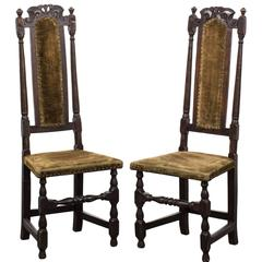 Pair of Side Chairs Baroque Period, 18th Century, Europe