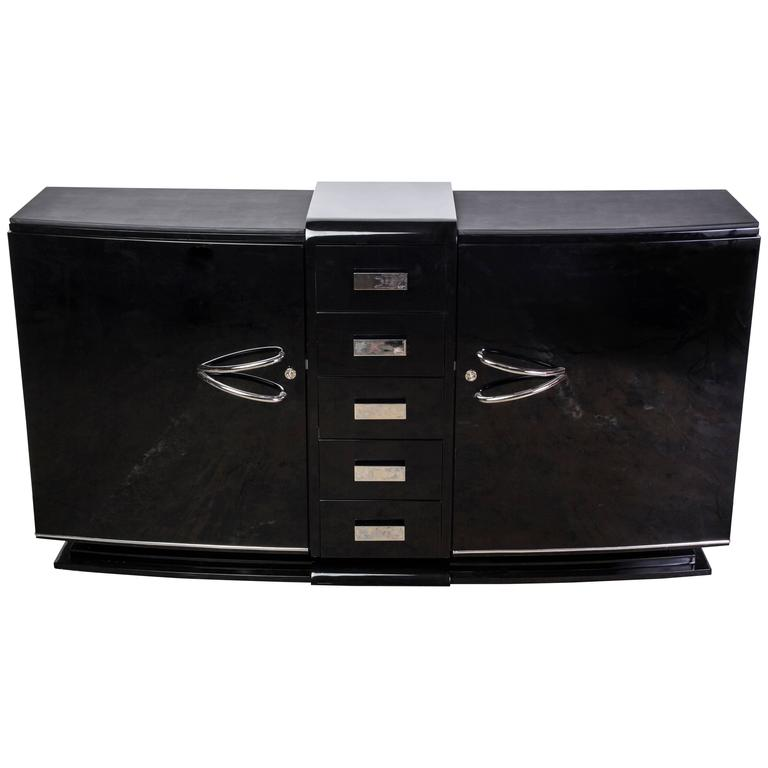 Magnificent French Art Deco Sideboard