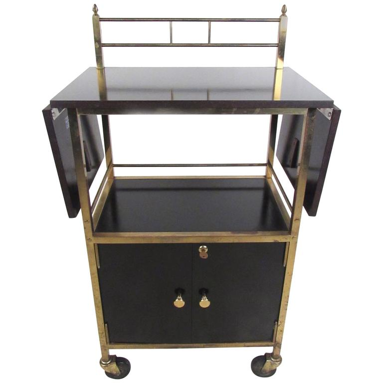 Mid-Century Modern Service Cart in the Style of Paul McCobb