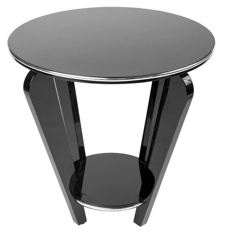 beautiful art deco end or side table for sale at 1stdibs