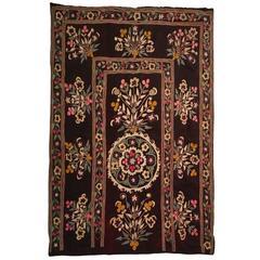 Late 19th Century Uzbek Suzani