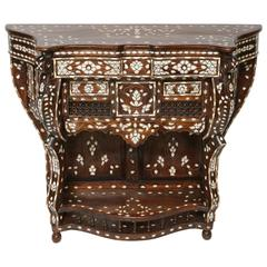 Syrian Mother-of-Pearl Inlaid Console