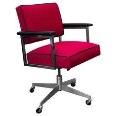 Classic Steelcase Chrome Steno Chair